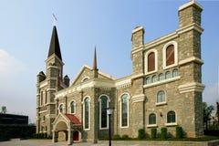Kerk van het Evangelie van Jiangbei van Chongqing de Christelijke Stock Afbeelding