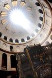 Kerk van het heilige grafgewelf Stock Afbeelding