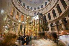 Kerk van het Heilige Grafgewelf Royalty-vrije Stock Afbeeldingen