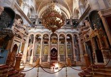 Kerk van het Heilige Grafgewelf Stock Foto's