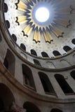 Kerk van het Heilige Grafgewelf - Golgotha, Jeruzalem Royalty-vrije Stock Foto