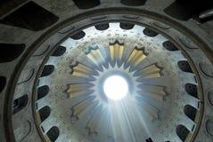 Kerk van het Heilige grafgewelf, Jeruzalem royalty-vrije stock afbeelding
