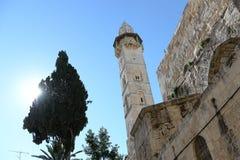 Kerk van het Heilige Grafgewelf, Jeruzalem Stock Foto's