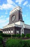 Kerk van het Heilige Hart, de architectuur van Praag royalty-vrije stock fotografie