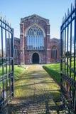 Kerk van het Heilige Kruis, Crediton Devon Stock Fotografie