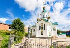 Kerk van het Pictogram van de Heilige Moeder van Tederheid Stock Foto's