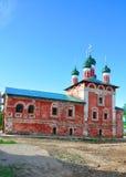 Kerk van het Pictogram van Smolensk van de Moeder van God Uglich, Rusland Stock Afbeeldingen