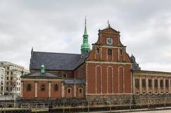 Kerk van Holmen, Copenhhagen stock fotografie