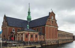 Kerk van Holmen, Copenhhagen royalty-vrije stock afbeelding