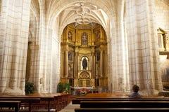 Kerk van Hornillos del Camino, Spanje Royalty-vrije Stock Foto