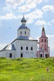 Kerk van Ilya-helderziende op Suzdal Stock Afbeeldingen