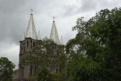 Kerk van Jardin Royalty-vrije Stock Foto