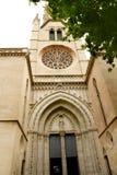 Kerk van Kerstman Eulalia Majorca Stock Afbeeldingen
