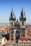 Kerk van Maagdelijk Maria royalty-vrije stock afbeeldingen