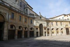 "Kerk van Mantova †de ""St Barbara en Domus-Nova stock fotografie"