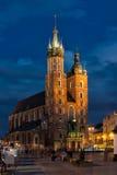 Kerk van Mariacki Stock Afbeeldingen