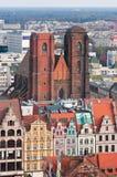Kerk van Mary Magdalene, Wroclaw, Polen stock afbeeldingen