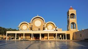 Kerk van Moeder van God in Agia Napa, Cyprus Stock Afbeelding