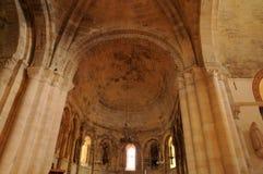 Kerk van Montagne in Gironde Stock Fotografie