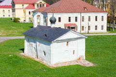 Kerk van Novgorod het Kremlin, Rusland Stock Foto's