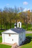 Kerk van Novgorod het Kremlin, Rusland stock fotografie