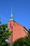 kerk van Nynashamn Stock Foto's