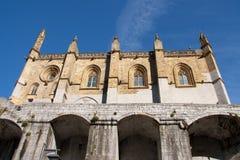 Kerk van Ondarroa royalty-vrije stock afbeeldingen