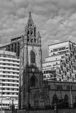 Kerk van Ons Dame en Sinterklaas Royalty-vrije Stock Afbeeldingen
