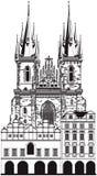 Kerk van Onze Dame Stock Foto's