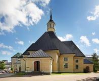 Kerk van Onze Dame in Lappeenranta Zuid-Karelië finland Royalty-vrije Stock Afbeeldingen