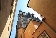 Kerk van onze dame vóór Tyn, Praag, Tsjechische Republiek Royalty-vrije Stock Fotografie