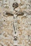 Kerk van Onze Dame van de Gunst. Soleto. Puglia. Italië. Stock Afbeeldingen