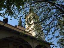 Kerk van Onze Dame van de Sneeuw Tekije Stock Afbeelding