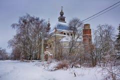 Kerk van Onze Dame van Kazan Stock Afbeeldingen