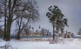 Kerk van Onze Dame van Kazan Stock Foto's