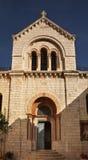Kerk van Onze Dame van Kramp in Jeruzalem israël stock fotografie