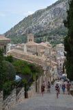 Kerk van Pollença Royalty-vrije Stock Afbeeldingen