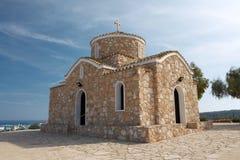 Kerk van Profitis Elias Stock Afbeeldingen