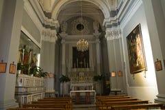 Kerk van Purificazione. Manduria. Puglia. Italië. royalty-vrije stock fotografie