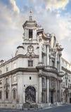Kerk van quattroDoopvonten ROME van San Carlo alle royalty-vrije stock afbeeldingen