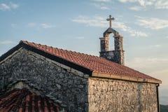 Kerk van rug Royalty-vrije Stock Foto