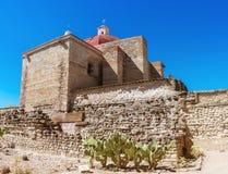 Kerk van Saint Paul in Mitla, Oaxaca, Mexico stock afbeelding
