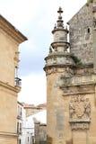 Kerk van Salvador Ubeda Jaen Andalusia Spanje Stock Foto's