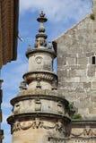 Kerk van Salvador Ubeda Jaen Andalusia Spanje Stock Afbeeldingen