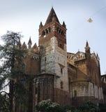 Kerk van San Bernardino in Verona Royalty-vrije Stock Foto