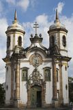 Kerk van San Francisco DE Assis Ouro Preto Royalty-vrije Stock Foto's