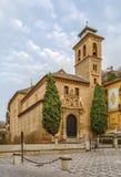 Kerk van San Gil en Santa Ana, Granada, Spanje royalty-vrije stock foto