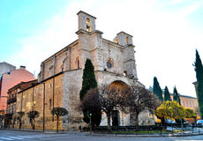 Kerk van San Gines Guadalajara Stock Afbeelding