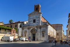 Kerk van San Giovanni e Reparata in Luca Italië stock foto