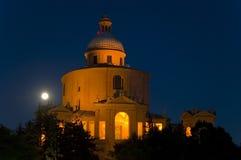 Kerk van San Luca in Bologna Royalty-vrije Stock Foto's